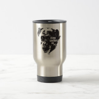 Jody Logo Travel Mug - White and Stainless Options