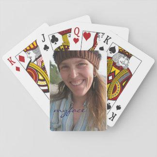 Jody myface playing cards