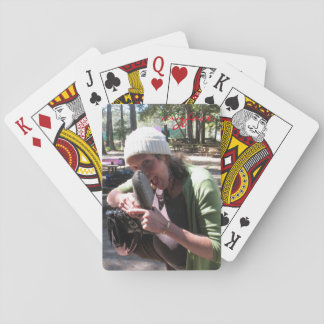 Jody with Jesse myface playing cards
