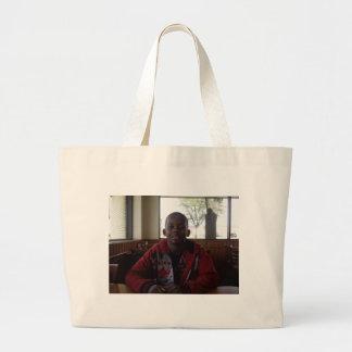 Joe and Papa Joe Jumbo Tote Bag