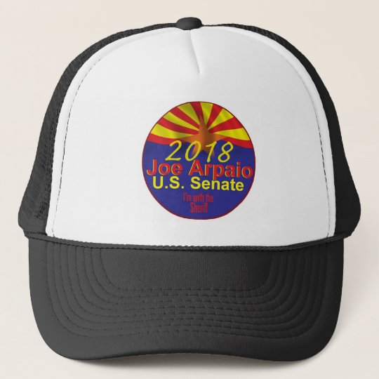 Joe ARPAIO AZ 2018 Trucker Hat