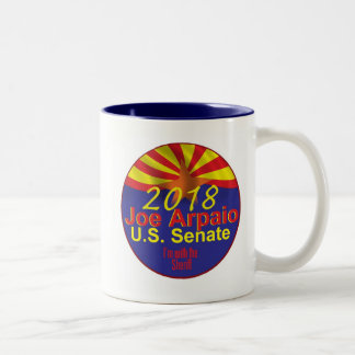 Joe ARPAIO AZ 2018 Two-Tone Coffee Mug