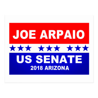 Joe Arpaio US Senate 2018 Arizona Postcard