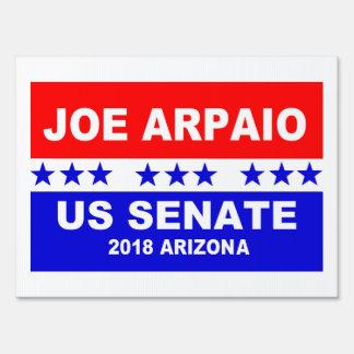 Joe Arpaio US Senate 2018 Arizona Sign