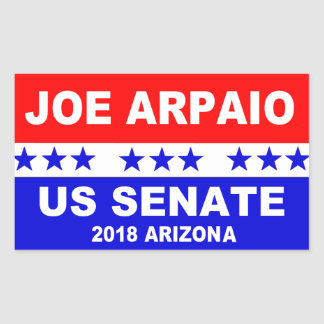 Joe Arpaio US Senate 2018 Arizona Sticker