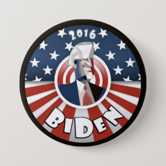 Joe Biden 2016 3 Inch Round Button