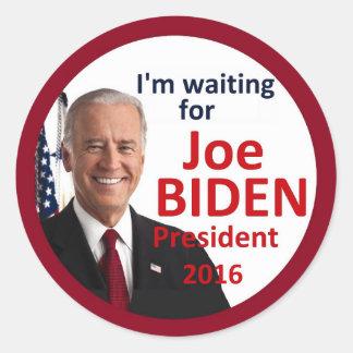 Joe BIDEN 2016 Round Sticker