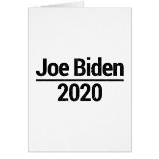 Joe Biden 2020 Card