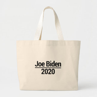 Joe Biden 2020 Large Tote Bag