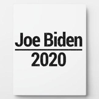 Joe Biden 2020 Plaque