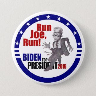 Joe Biden for President 2016 3 Inch Round Button