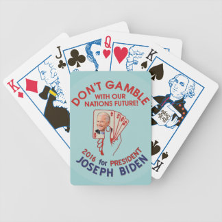 Joe Biden for President in 2016 Bicycle Playing Cards