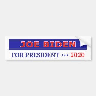 Joe Biden pour le président 2020 Autocollant De Voiture