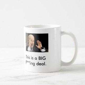 joe biden, This is a BIG F***ing deal. Classic White Coffee Mug