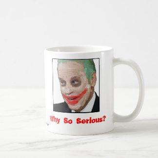 Joe Biden: Why So Serious? Classic White Coffee Mug