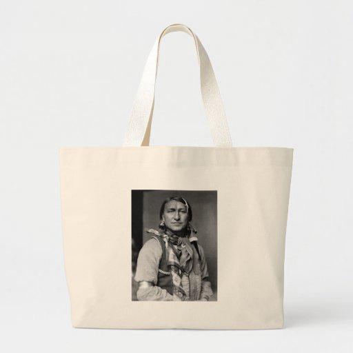 Joe Black Fox, 1900 Canvas Bag