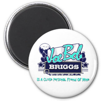 Joe Bob Briggs Fridge 2 Inch Round Magnet