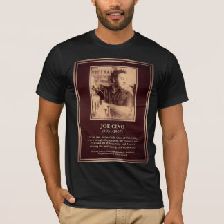 Joe Cino Memorial Plaque T-Shirt