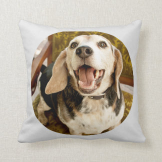 Joe Cup of Blue Beagle Pillow