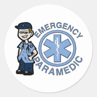 Joe Emergency Medic Classic Round Sticker
