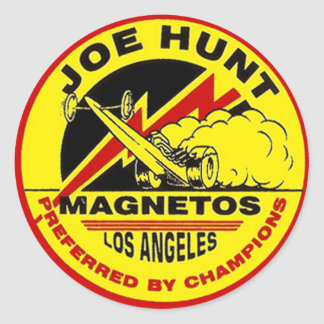 Joe Hunt Sticker