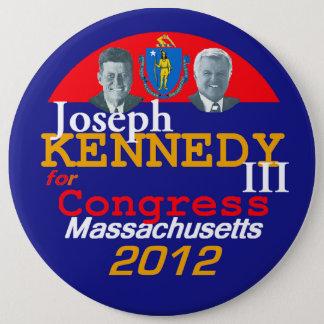 Joe KENNEDY 6in Button