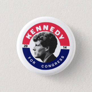Joe Kennedy for Congress 2014 1 Inch Round Button