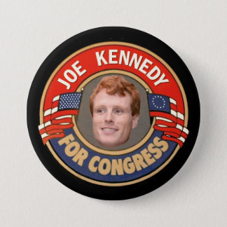 Joe Kennedy for Congress 3 Inch Round Button