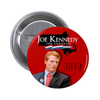 Joe Kennedy for Congress Red 2 Inch Round Button