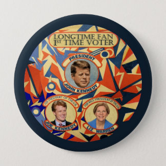 Joe Kennedy for President 2016 4 Inch Round Button