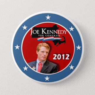 Joe Kennedy III for Congress 2012 3 Inch Round Button