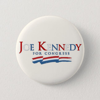 Joe Kennedy, III for Congress white version 2 Inch Round Button