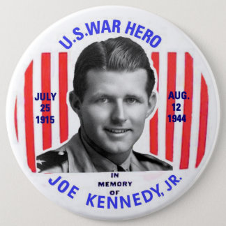 Joe Kennedy Jr. Memorial Button