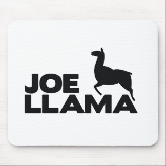 Joe Llama is here Mouse Pad