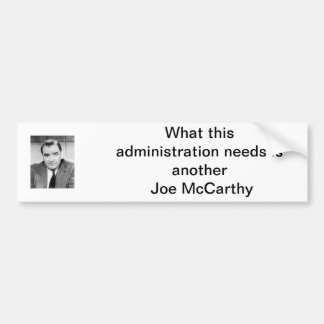 Joe McCarthy Bumper Sticker
