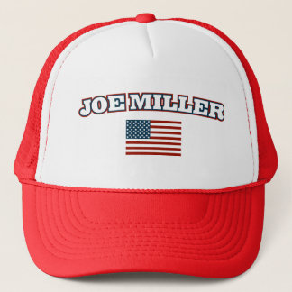 Joe Miller for Senate Patriotic Trucker Hat