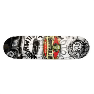 Joe Morris Art Moto Deck Skateboard