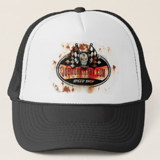 Joe Morris Art Rusty Shop hat