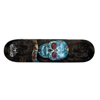 Joe Morris Art Skull Deck II Custom Skateboard