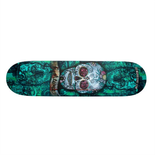 Joe morris Art Skull Deck Skate Boards
