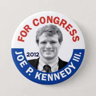 Joe P. Kennedy III for Congress 2012 3 Inch Round Button