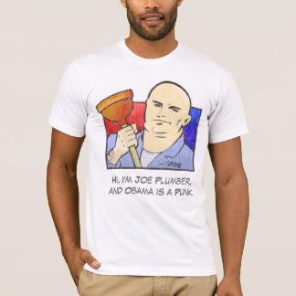 Joe Plumber - John McCain for President T-Shirt