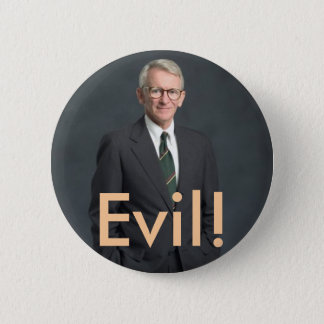 joe riley, Evil! 2 Inch Round Button