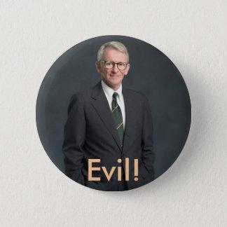 joe riley, Evil! 2 Inch Round Button