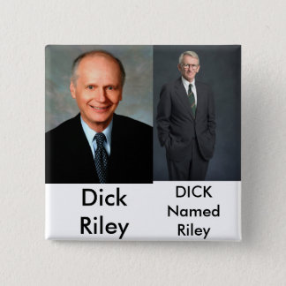 joe riley, Evil! - Customized - Cu... - Customized 2 Inch Square Button
