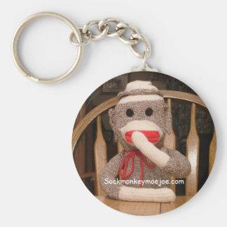 Joe Sock Monkey Keychain