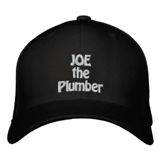 JOE the Plumber Embroidered Hat