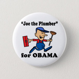 Joe the Plumber for Obama 2 Inch Round Button