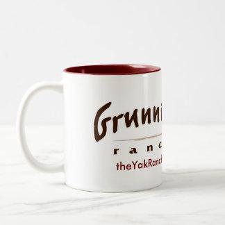 Joe Yak Two-Tone Coffee Mug