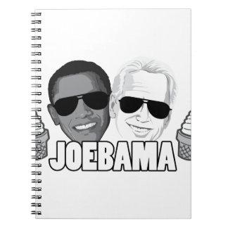 JoeBama Ice Cream Notebook